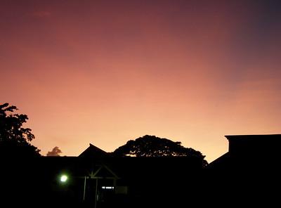 Sunset  Trinidad 2007