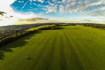 From Blacksnape playing fields near Darwen, Lancashire.