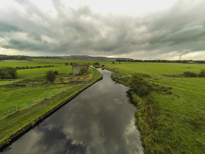 Leeds to Liverpool canal near Clayton-le-Moors, Lancashire.
