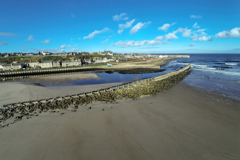East Beach, Lossiemouth, Moray, Scotland.
