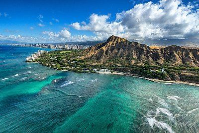Side of Diamond Head