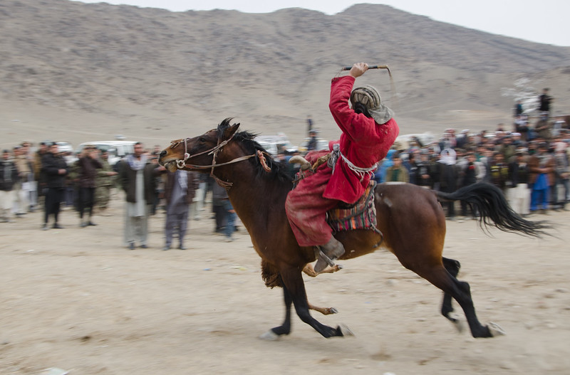 Buzkashi player, Kabul