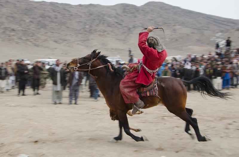 Buzkashi player, Kabul