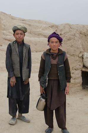 Ethnic Uzbek kids, Dare I Suf
