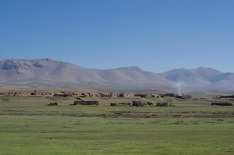 Remote village in central highlands, Ghor