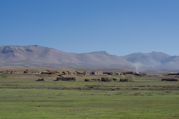 Remote village in central highlands, Ghor