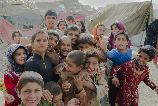 Faces in Kabul's informal settlements