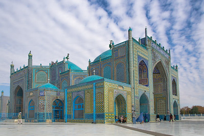 Shrine of Hazrat Ali (The Blue Mosque), Mazar i Sharif