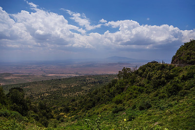 African Rift Valley, Kenya A view overlooking the East African Great Rift Valley