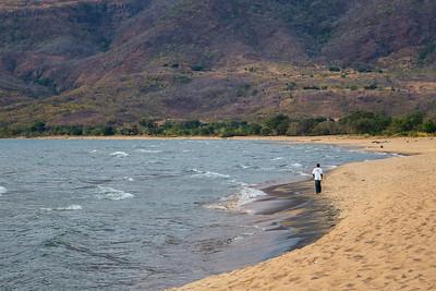Lake Malawi Chitimba Beach on Lake Malawi.