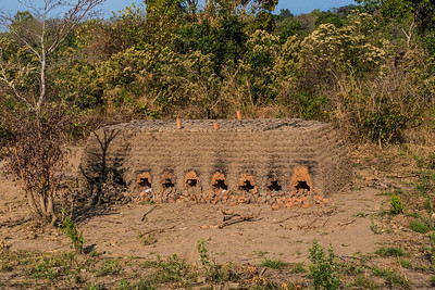 Malawi I saw brick kilns all over Malawi. There was a lot of brick construction going on everywhere.