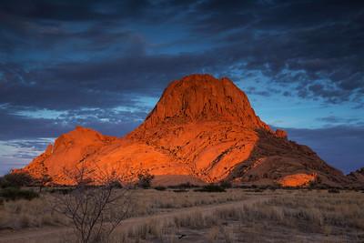 Spitzkoppe, Namibia Sunrise at Spitzkoppe.