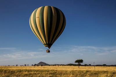 Serengeti National Park, Tanzania Ballooning over the Serengeti in Tanzania.