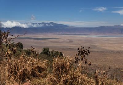 Ngorongoro Crater, Tanzania A view of Ngorongoro Crater from the rim.