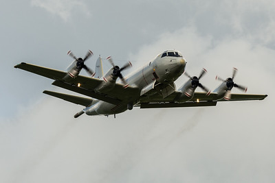 Lockheed P-3C Orion bomb doors open at RAF Cosford 2019