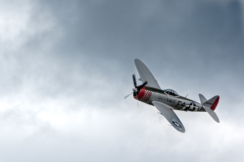 P-47D Thunderbolt Nellie B at The Victory Show