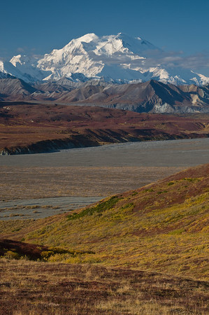 Mt McKinley at Polychrome Pass