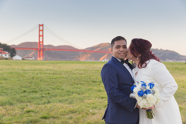 Alejandra & Adimante Wedding in San Francisco