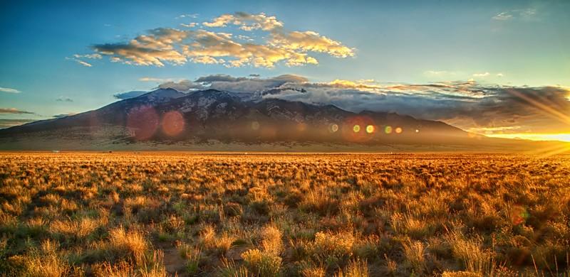 Mount Blanca Sunrise