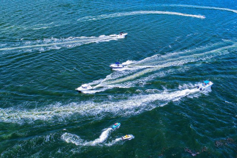 Boats on the Barnegat Bay