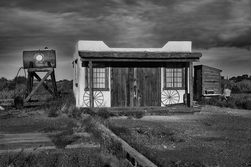 Congress Sawmill Art Gallery - Congress, AZ.