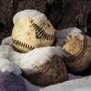 Snow Covered Baseballs