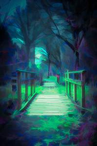 Another World - Wooden Bridge