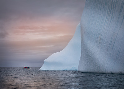 Antarctica: Icebergs can be very, very large!