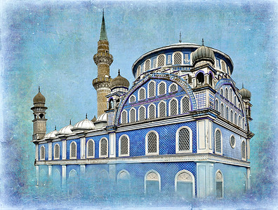 Blue Mosque -Izmir