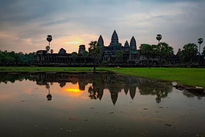 Siem Reap, Cambodia Angkor Wat at dawn.