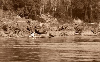 northern Laos Sights along the Mekong River in northern Laos.