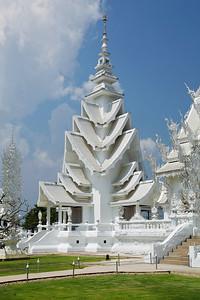 Chiang Rai Province,Thailand Wat Rong Khun (White Temple) in Chiang Rai Province in northern Thailand.