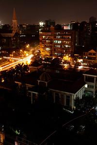 Saigon  (Ho Chi Minh City), Vietnam Nighttime in Saigon.