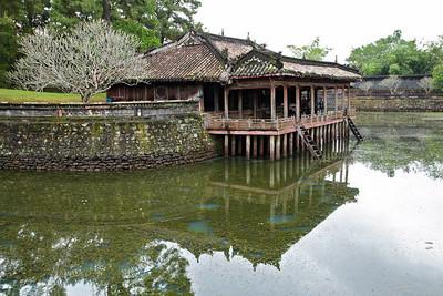 Huế, Vietnam Luu Khie Lake at the Tu Duc Tomb in Huế.
