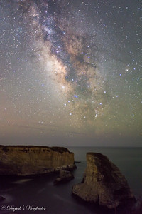 Made from 4 light frames (captured with a Canon camera) by Starry Landscape Stacker 1.4.4.