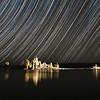 Star Trails over Tufa Formations, Mono Lake
