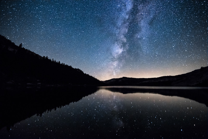 Tenaya Lake Milky Way