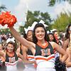 Cheerleader with Spires