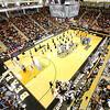 Basketball Hawkins Arena full