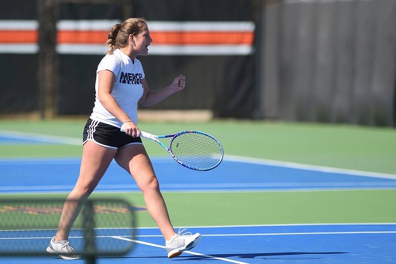 Mercer Women's Tennis at Auburn (Feb. 17, 2017)