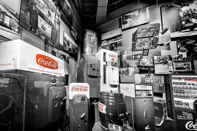 Old Style Coca-Cola Vending Machines