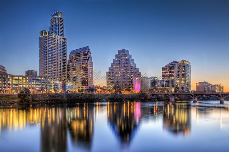 Austin Skyline - Blue Hour