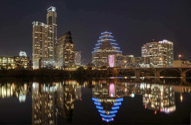Austin Skyline  10/29/2010