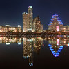 Austin Skyline ~  Finally, few cranes removed from the top of building.