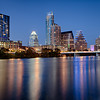 Austin Skyline during Blue Hour