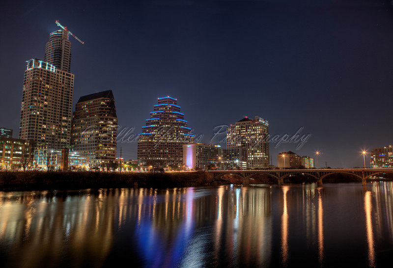 Austin Skyline<br /> <br /> This photo was taken on December 30, 2009 during late evening.<br /> <br /> HDR - AEB +/-1 total of 7 exposures processed with Photomatix.