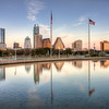Austin Skyline Reflection