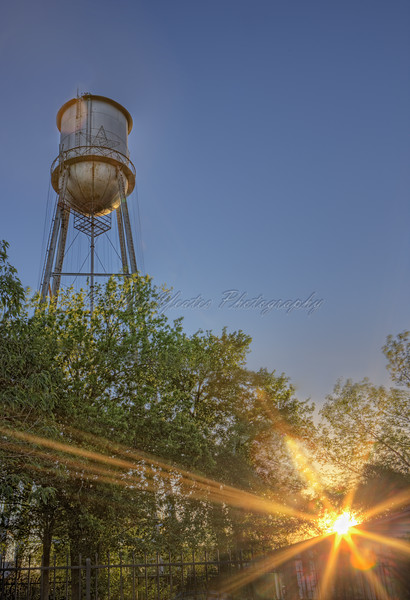 The Round Rock Water Tank