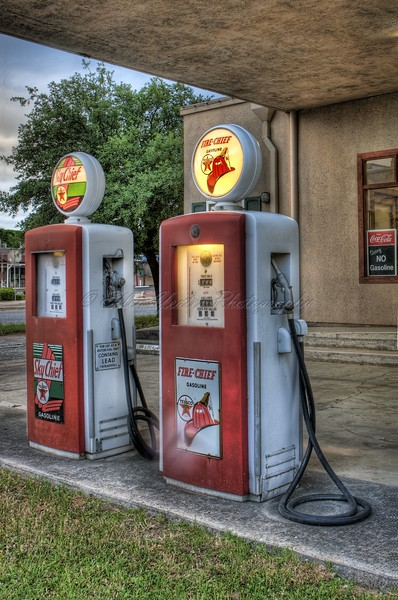 Old Gas Station - Texaco
