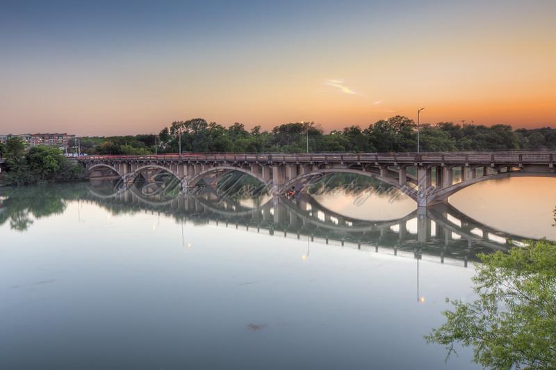 Lamar Bridge Sunset